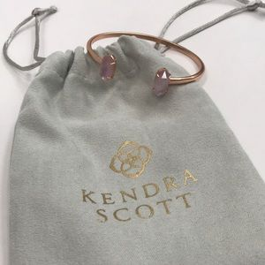 Kendra Scott rose gold cuff bracelet